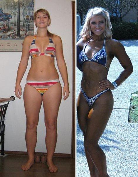 диета и тренировки для похудения для девушек